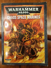 Chaos Space Marines 2007 Codex Softcover Warhammer 40K