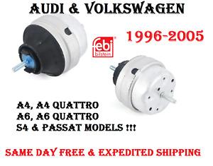 AUDI VW A4 A6 S4 Passat Left or Right 2.8 & 3.0 Engine Motor Mount FEBI BILSTEIN