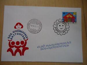 SOS Kinderdorf Ungarn 1985 Ersttagsbrief