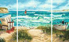 Sommerfrische Schipper Triptychon Malen nach Zahlen 609260595