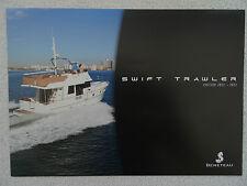 Beneteau Swift Trawler boat brochure 2012/13 - French/English text - 52,50,44,34