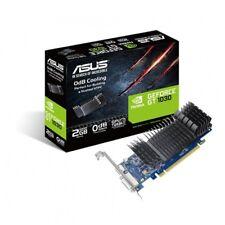 Asus NVIDIA Geforce GT1030-SL-2G-BRK GDDR5 64 Bit Memory PCI Express Graphics...