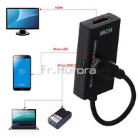 MHL Micro USB to HDMI Adapter 1080P HDTV Cable for Huawei Samsung Sony LG HTC