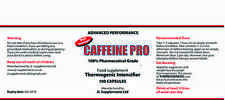 CAFFEINE PRO EXTRA STRONG 300mg Capsules