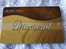 Vintage Tropicana Casino & Resort Diamond Slot Card Atlantic City