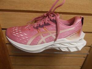ASICS NOVABLAST 2 WOMEN'S RUNNING OR WALKING SHOE MEDIUM B WIDTH ROSE  NEW