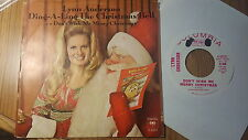 Lynn Anderson – Ding A Ling The Christmas Bell ~ Promo ~ (VG+)