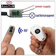 wireless remote control switch 433mhz rf transmitter receiver 3.5v 3.7v 5v 12v