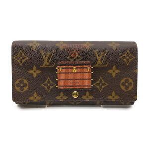 Louis Vuitton LV Long Wallet Portefeuillue Sarah Trunk M60415 Monogram 1718874