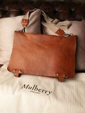 Genuine Mulberry Woody Messenger Bag in Oak Darwin Leather, Cool!