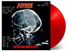 ACCEPT - DEATH ROW, 2018 EU 180G RED vinyl 2LP, 1000 COPIES! NEW - SEALED!