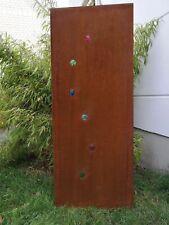 Edelrost Sichtschutz Wand Rost Sichtschutzwand Gartenzubehör,Metall 125*50 cm