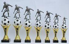 Pokal Fußballpokale 7er-Serie mit Gravuren und Emblemen *auch mit Damenfigur*