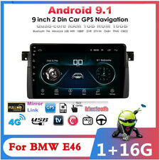 """For BMW E46 Car Multimedia Player Radio GPS MP3 DAB WIFI 9"""" Android 9.1 1G+16G"""