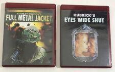 Lot Of 2 Stanley Kubrick Hd Dvd Eyes Wide Shut & Full Metal Jacket