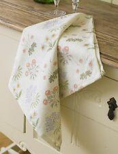 Licensed William Morris Lily Cotton Floral Tea Towel