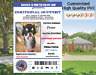 Customized Service Dog Id Card ESA 2019 Bar Code Your Own QR Code