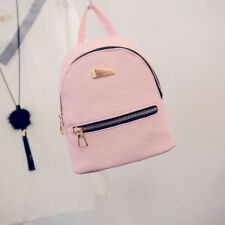 Women Girls Small PU Leather Backpack Students Mini School Shouder Bag Handbag