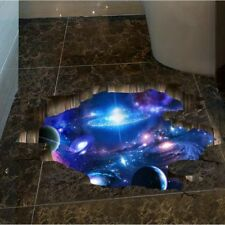 3D PVC Wall Sticker Universe Galaxy Sky Painting Wallpaper Room Decoration A1