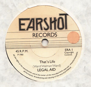 NEW WAVE -- LEGAL AID -- THAT'S LIFE-- UK 7