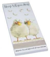 Duck Duckling Farm Countryside Themed Magnetic Memo Notepad To Do List Pad Gift