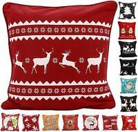 Merry Christmas Gift Throw Pillow Case Cover Cushion Sofa Car Home Decoration