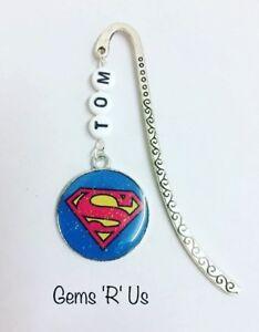 Personalised Superman Super Hero Bookmark