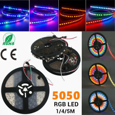 1/4/5M WS2812B WS2812 IC LED 5050 RGB Strip Light Home Garden Party Decor