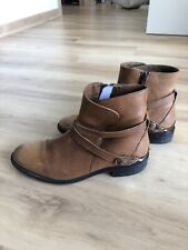 Johnston And Murphy Womens Ankle Riding Boots Tan 38