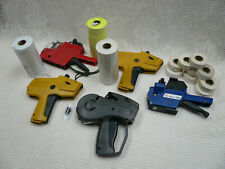 Vtg Lot 5 Pricing Label Guns Monarch Paxar 1131 1110 Ims Mx-2200 Sato Pb-1 Rolls