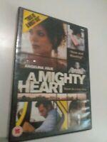 DVD   A mighty heart (based  on a true story ) angelina jolie