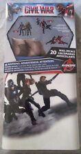 Roommates Captain America Civil War Iron Man Black Panther Widow Wall Decal
