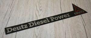 """Deutz Aufkleber """"Deutz Diesel Power"""" Sticker ."""