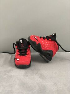 Nike Air Griffey Max 2 II Cincinnati Reds toddler red shoes size 2c RARE!!
