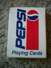 Pepsi Cola Playing Cards Hoyle, #6902 plastic coated New, sealed in box Usa