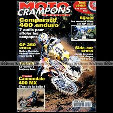 MOTO CRAMPONS N°181 CANNONDALE MX BMW F650 GS YAMAHA 400 WRF ENDURO TOUQUET 2000
