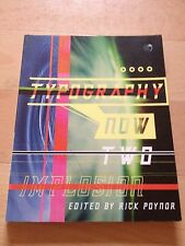 RICK POYNOR, TYPOGRAPHY NOW TWO, IMPLOSION