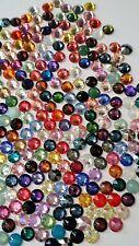 HOTFIX 50 SWAROVSKI Crystal Rhinestones FlatBack MIXED 34ss