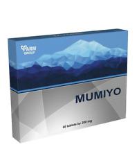 Mumijo Tablets Farm Altai 60x200mg mumie mumye supplement FREE shipping