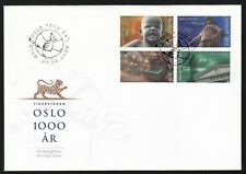 Norway 2000 Fdc Millinery Of Oslo