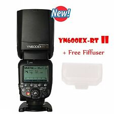 YONGNUO YN600EX-RT II Wireless Speedlite TTL Flash 1/8000s 2.4G For Canon Camera