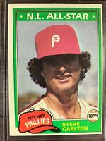 Steve Carlton Baseball Card #630 Topps Philadelphia Phillies MLB HOF Free Ship