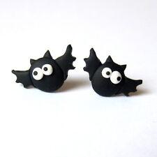 Halloween Bat Funny Party Dress Gift Scary Black Vampire Horror Earrings Jewelry