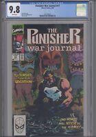 Punisher War Journal #17 CGC 9.8 1990  Marvel Jim Lee Comic: Hawaii 1 New Frame