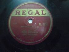 "MUZAFFAR COMIC PARTY  URDU  RL 2598 RARE 78 RPM RECORD hindi 10"" INDIA VG+"