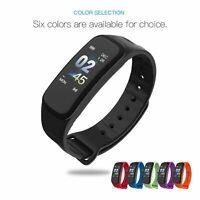 Smart Wrist Bands Activity Fitness Tracker Sports Bracelet Waterproof C1 Plus