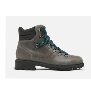 Sorel Lennox™ Quarry Grey Leather Hiker Boots