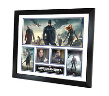 Captain America Signed Photo Movie Memorabilia Framed Limited Edition of 250