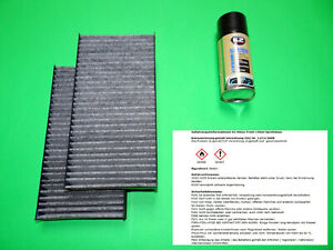Pollenfilter mit Aktivkohle + Klimareiniger BMW 2er Active / Gran Tourer F45 F46