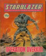 COMPLETE STARBLAZER COMICS on 2 PRINTED  DVD ROM